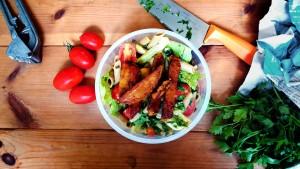 תזונה טבעונית לספורטאים. ארוחת צהריים של אלופים