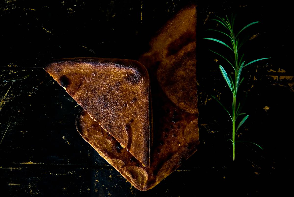 לחם חומוס שטוח סוקה