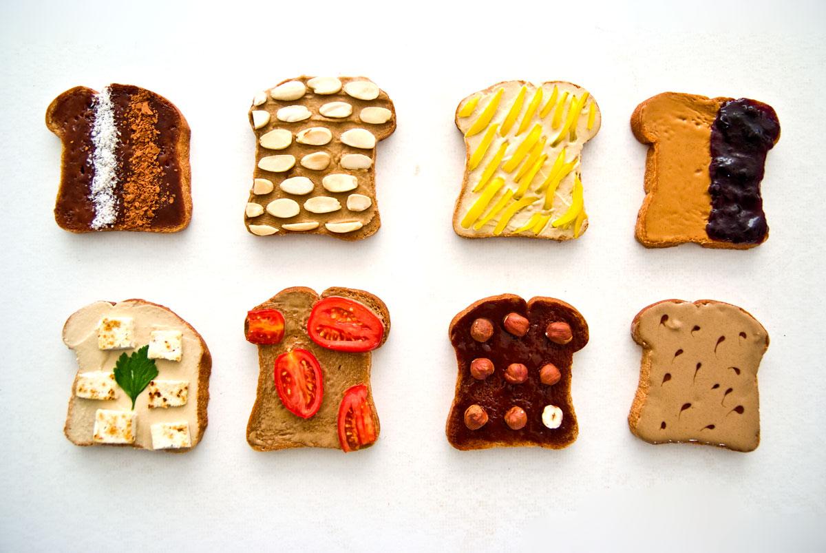 מה מורחים בכריך טבעוני ?