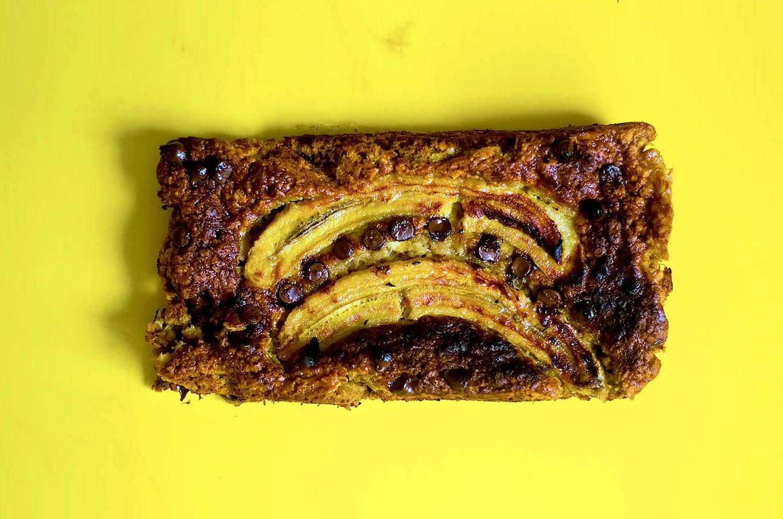 לחם בננה טבעוני