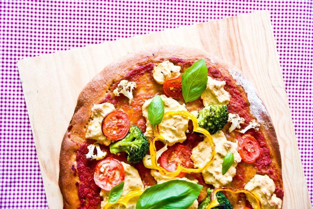 פיצה טבעונית