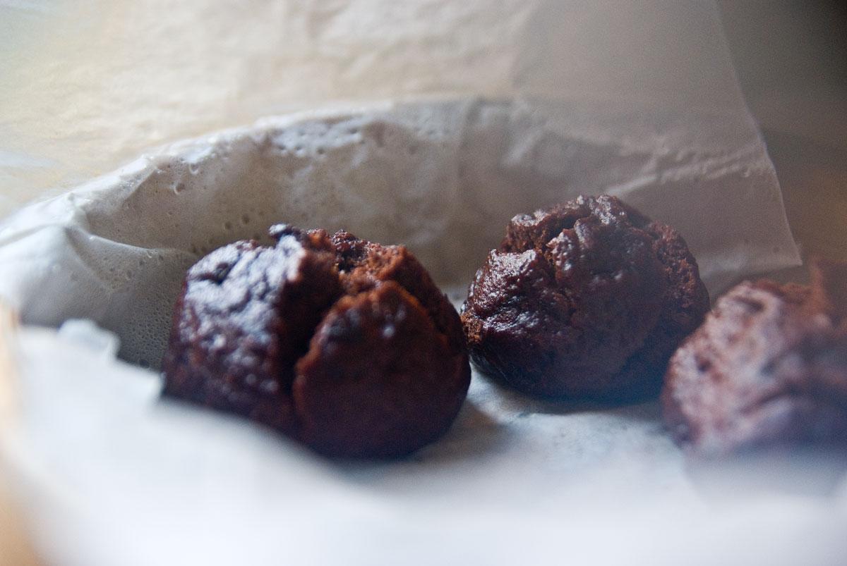 סופגניות שוקולד מאודות