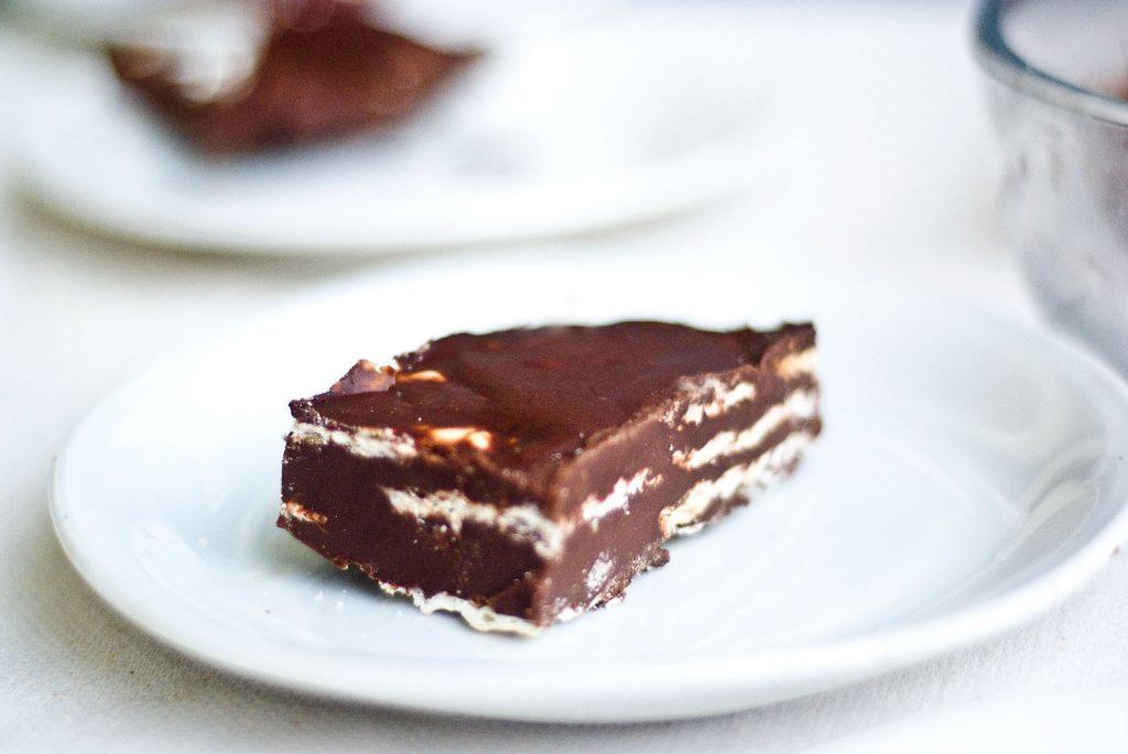 עוגת מצות טבעונית