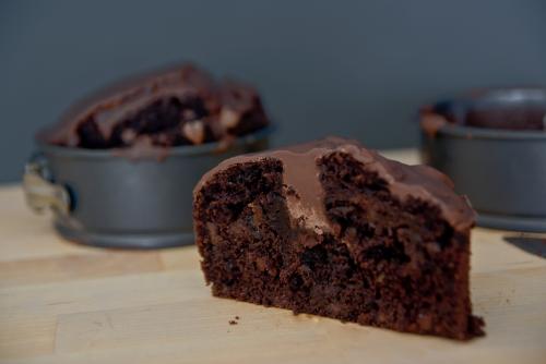 עוגת שוקולד טבעונית קלה להכנה