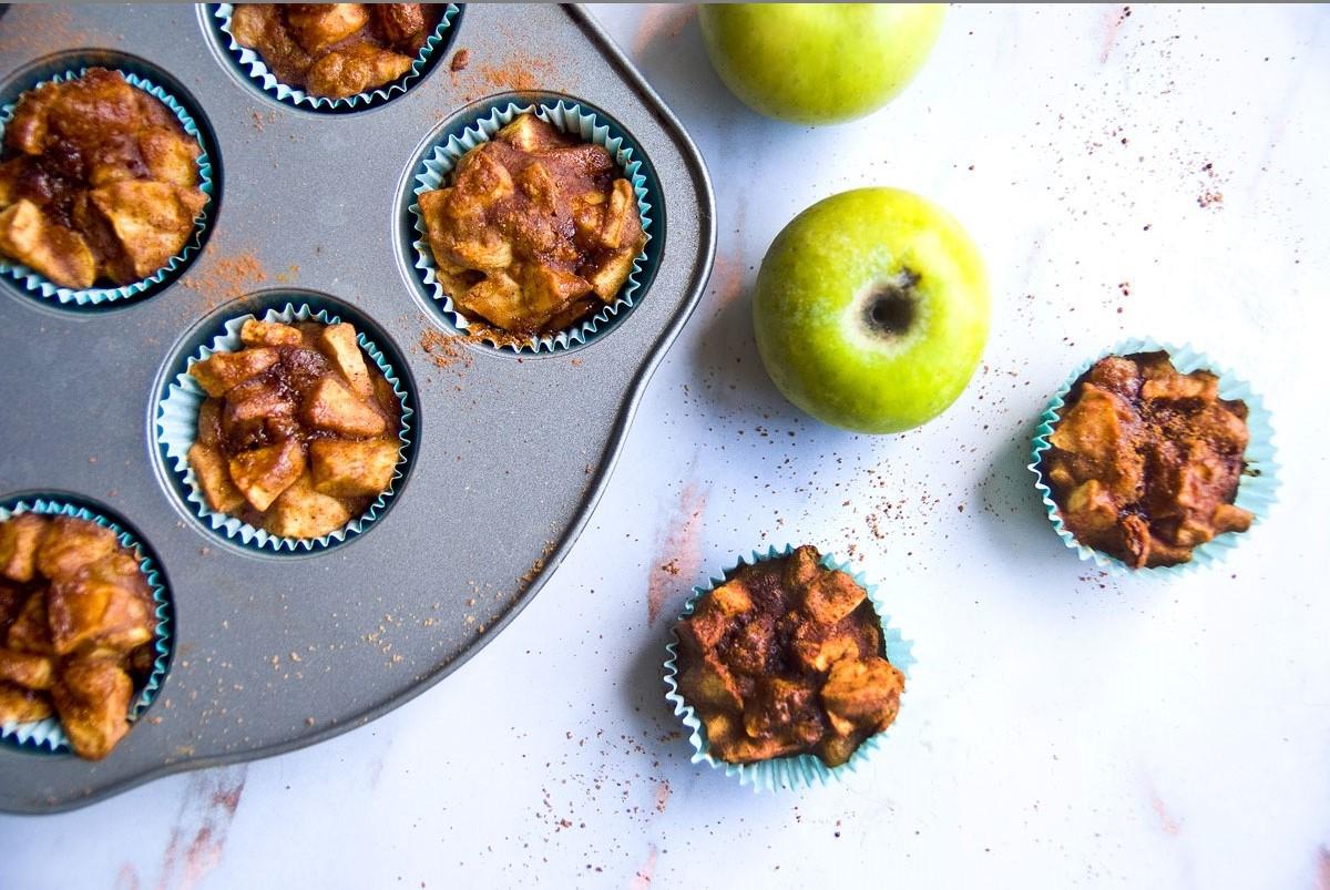 מאפינס תפוחים טבעוני
