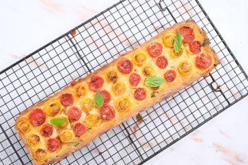 קיש עגבניות טבעוני