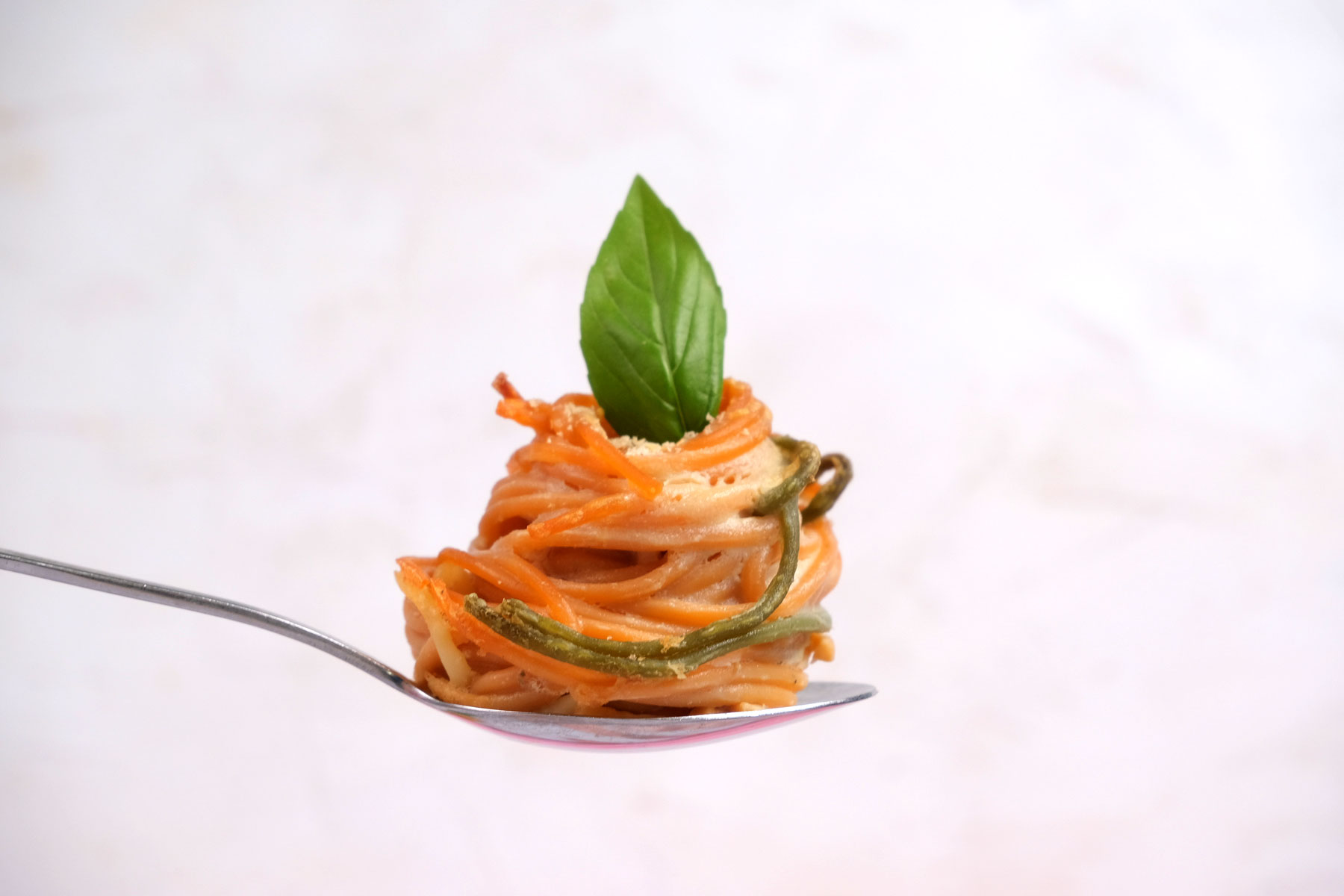 כוסות ספגטי טבעוני