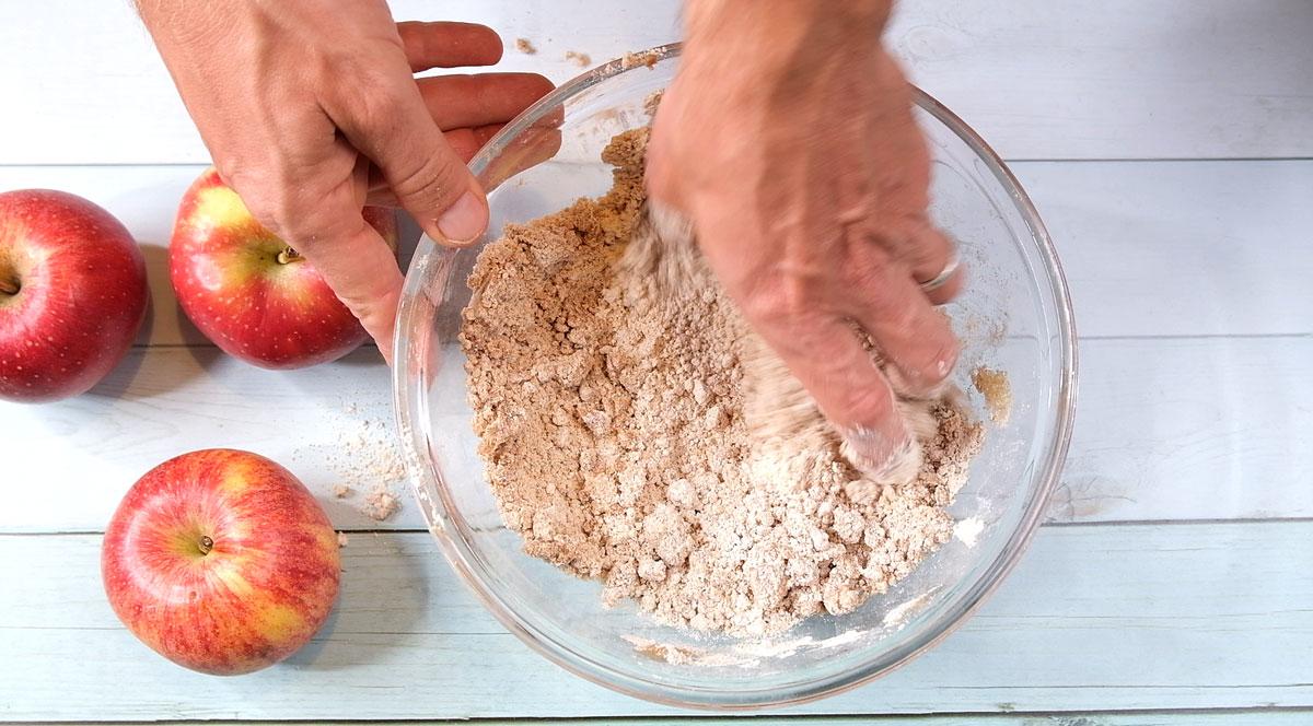 גאלט תפוחים טבעוני