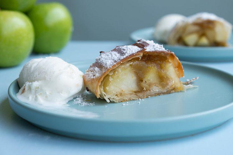 שטרודל תפוחים דל קלוריות