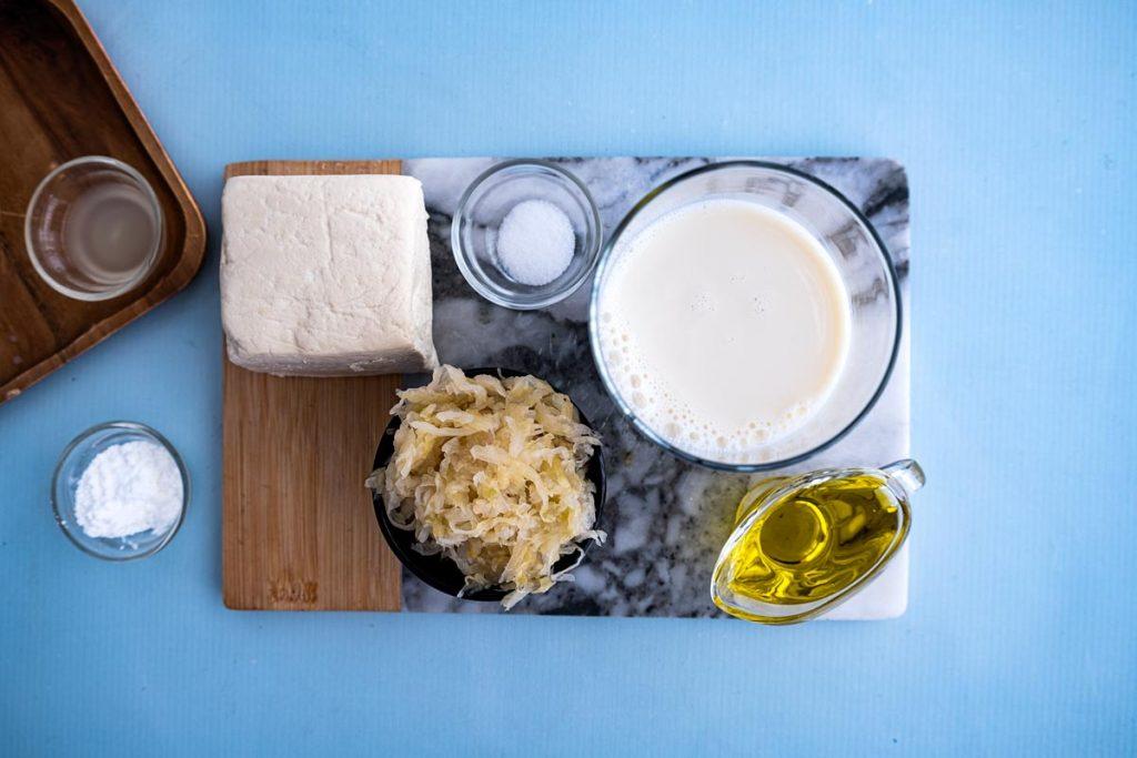 איך עושים גבינה טבעונית לבורקס